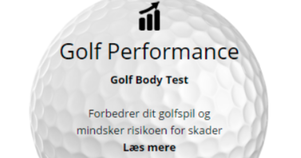 Golf body test