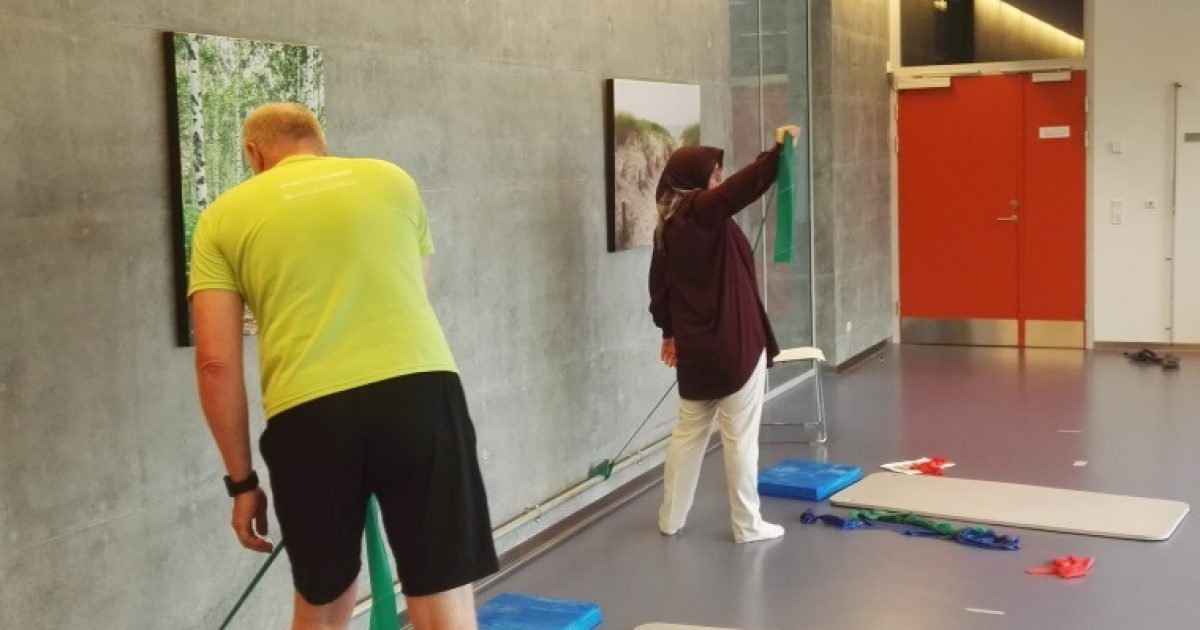 Glaid – træning for ryg